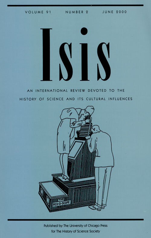 Isis journal. cover